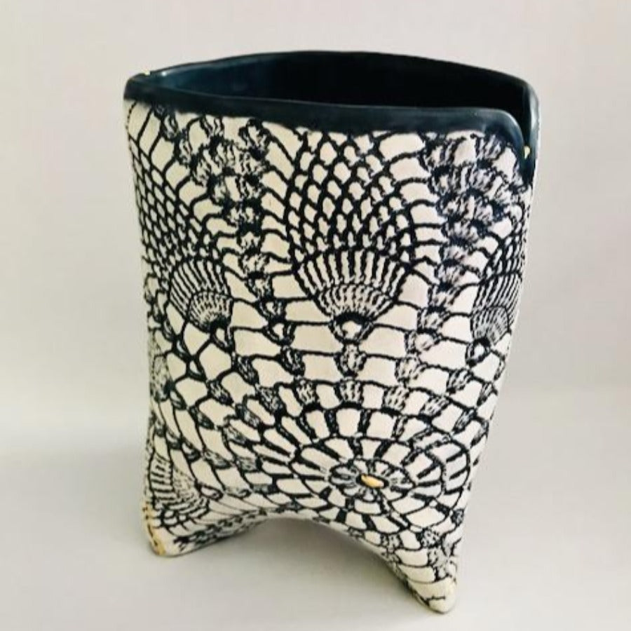 Textured French Lace Vessel