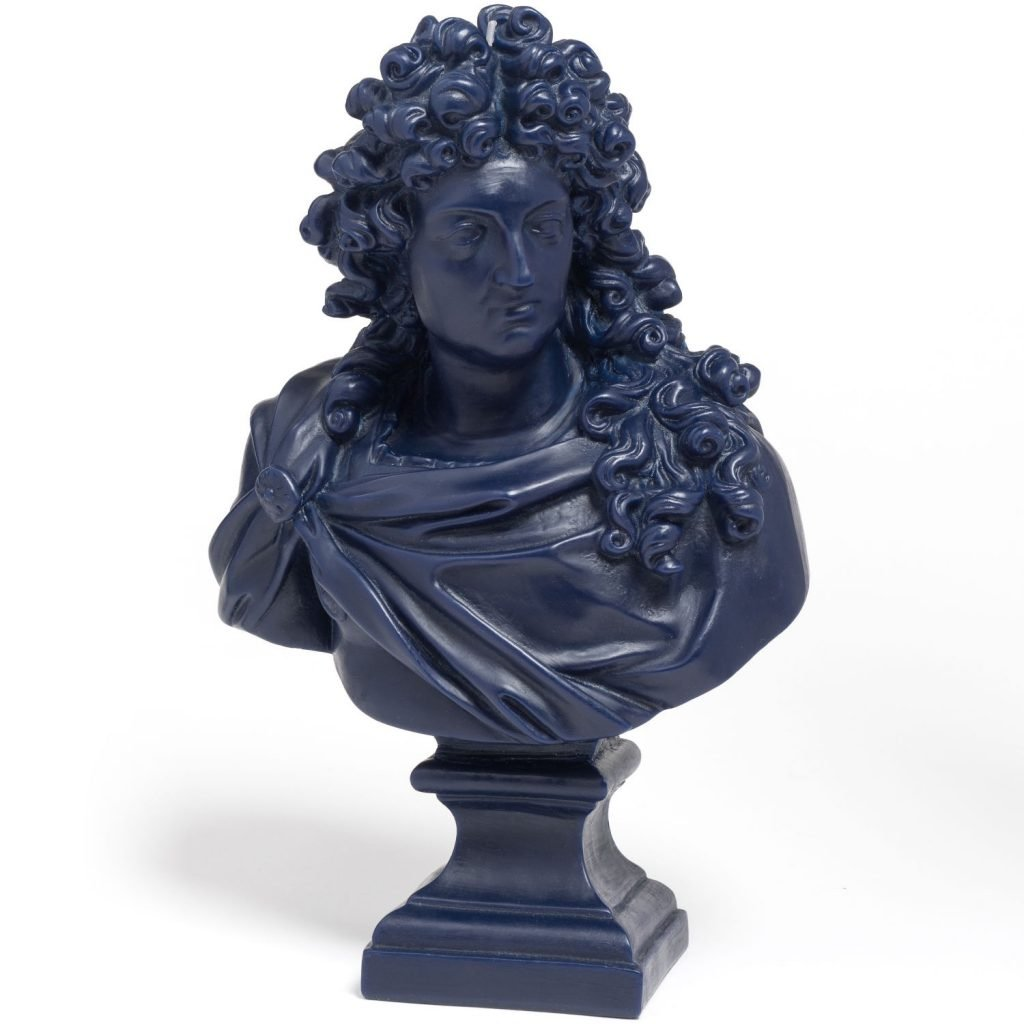 Louis XIV Bust Candle