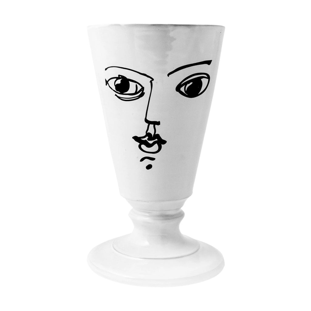 Moon Footed Vase