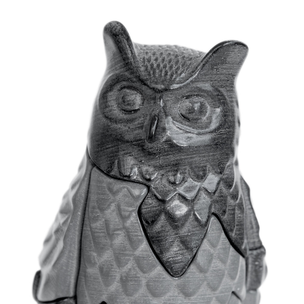 Owl Puzzle Sculpture, Small