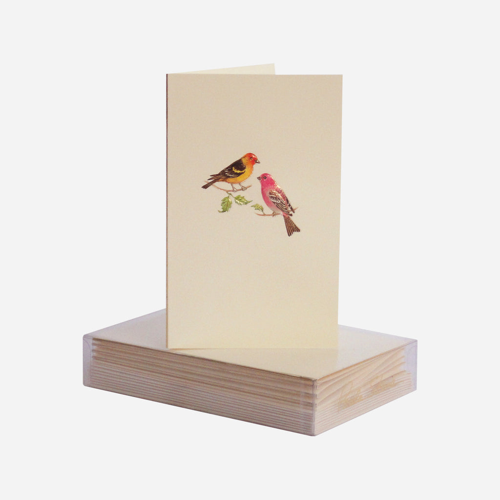 Tanager & Mate Mini Note Cards S/8