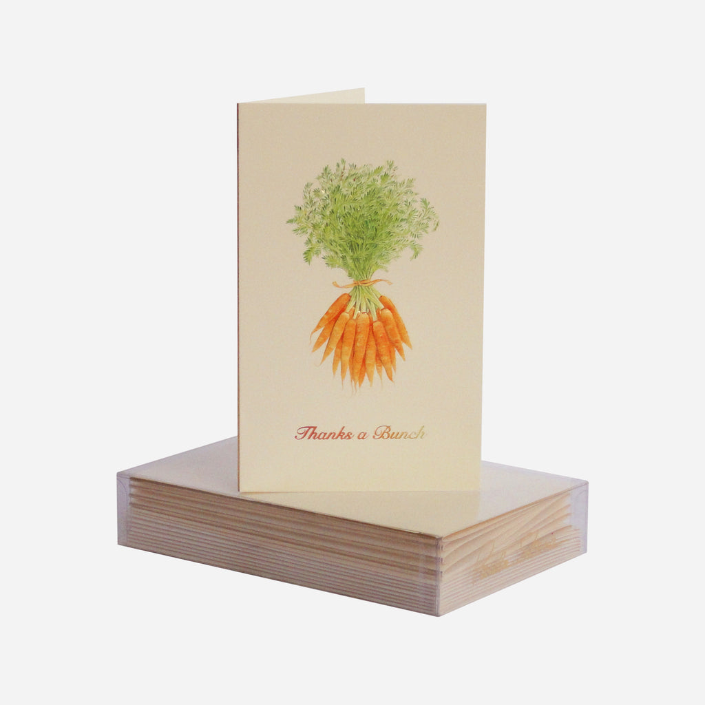 'Thanks a Bunch' Mini Note Cards S/8