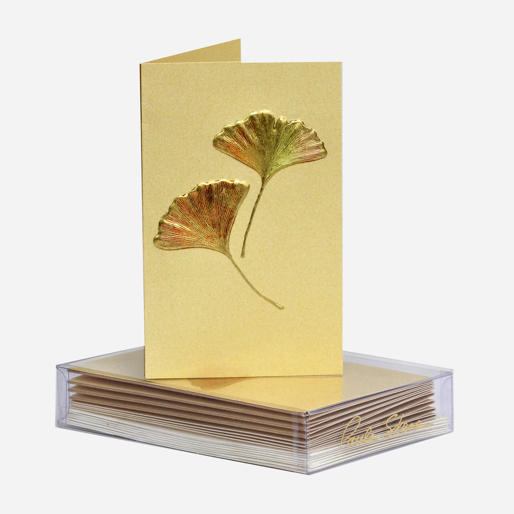 Ginkgo Mini Note Cards Set of 8