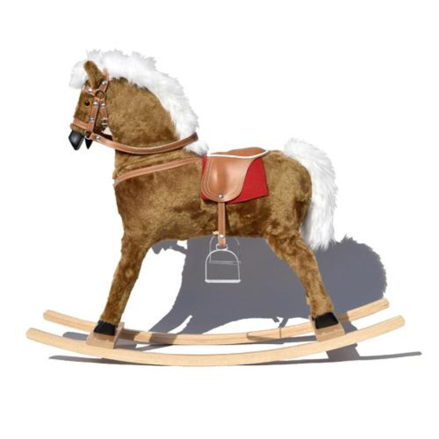 Light Brown Gloriosa Rocking Horse