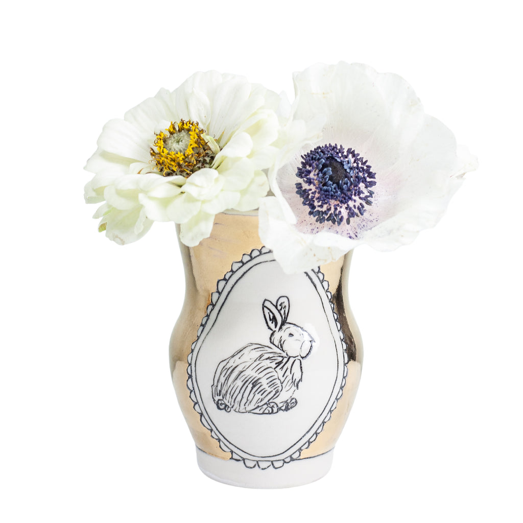 Rabbit Medium Vase