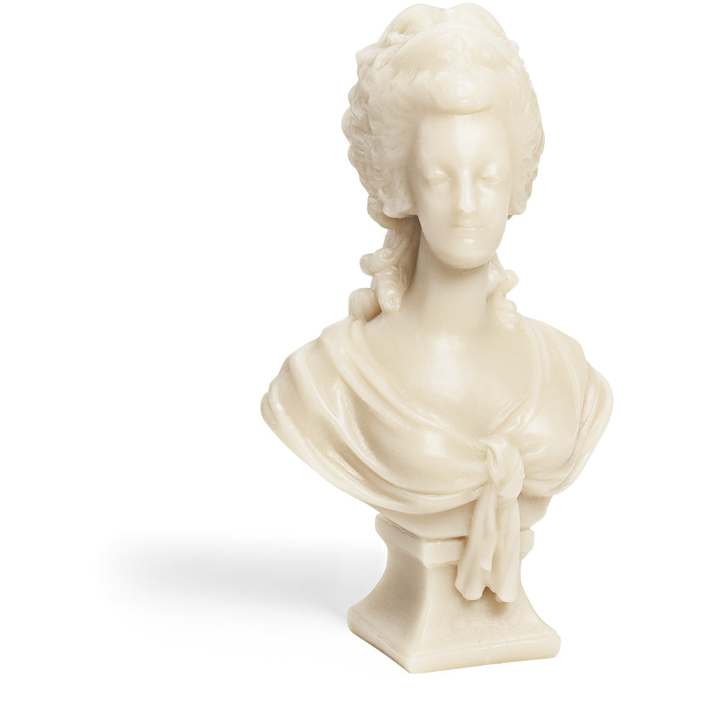 Marie Antoinette Bust Candle