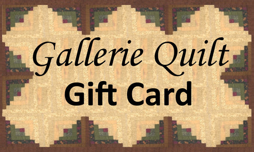 Gallerie Quilt Gift Card
