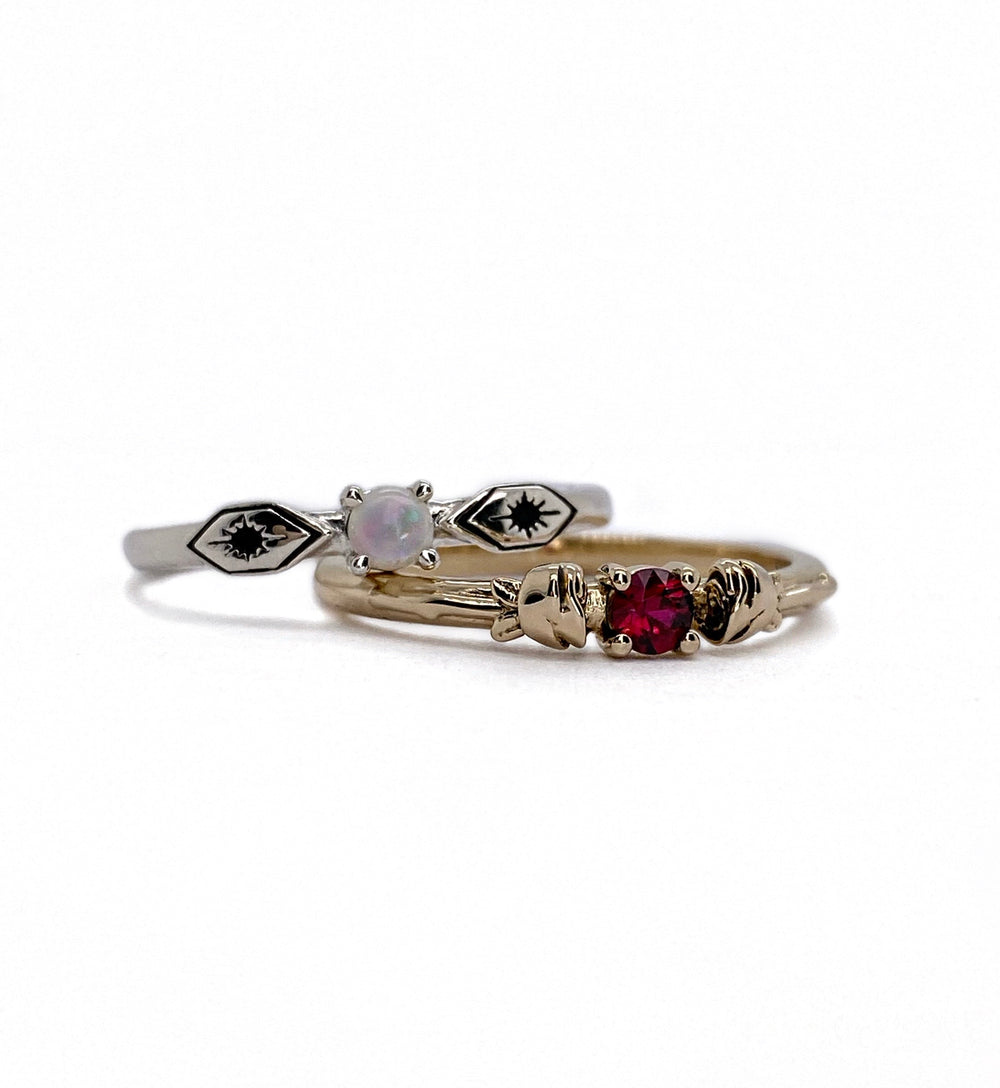 Birthstone Ring - Create Your Own