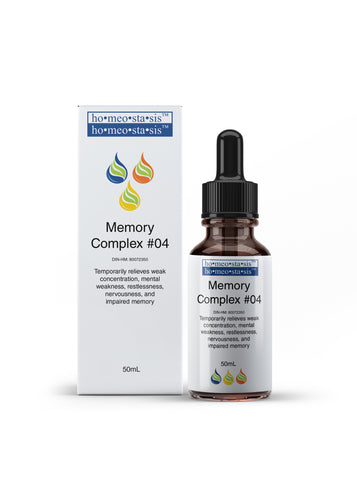 Complex #04 Memory - Improves Concentration and Memory