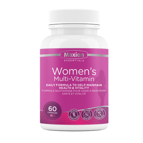 Women's Multi-Vitamin - Daily Formula to Maintain Health & Vitality