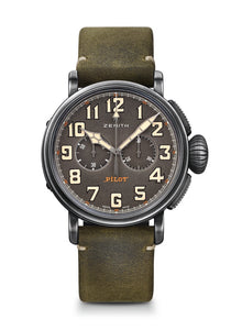 PILOT TYPE 20 TON UP CAFE RACER SPIRIT CHRONOGRAPH CAFE RACER