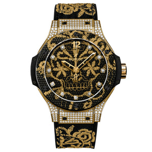 BIG BANG GOLD EMBRODERIE CHRONOGRAPH 41MM
