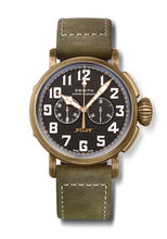 Load image into Gallery viewer, PILOT TYPE 20 TON UP CHRONOGRAPH BRONZE BLACK DIAL