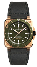 Load image into Gallery viewer, BR03-92 DIVER GREEN BRONZE