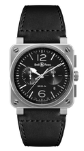 Load image into Gallery viewer, BR03-94 CHRONOGRAPH STEEL