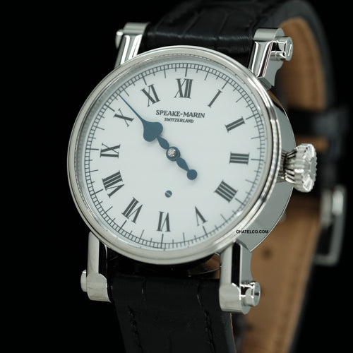 PICCADILLY SHIMODA STEEL WHITE ENAMEL 38MM