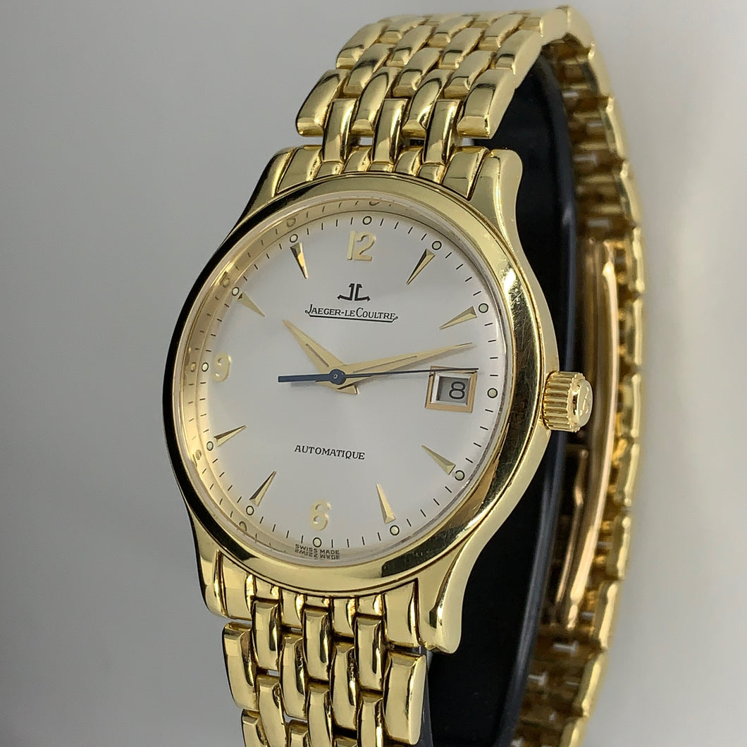 JAEGER LE COULTRE MASTER DATE 18KYG