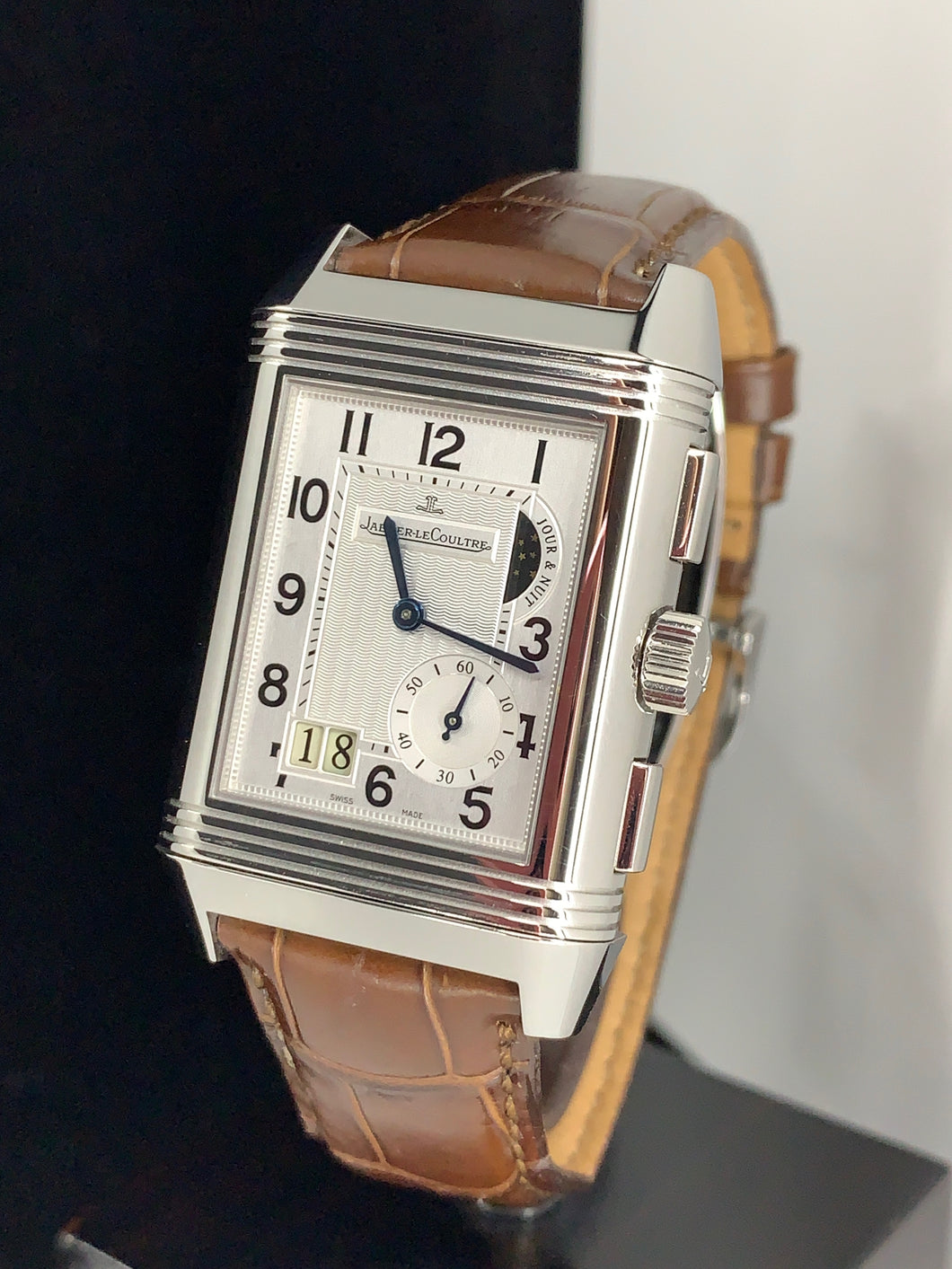 JAEGER LE COULTRE REVERSO GRAND GMT 8 DAYS DUOFACE