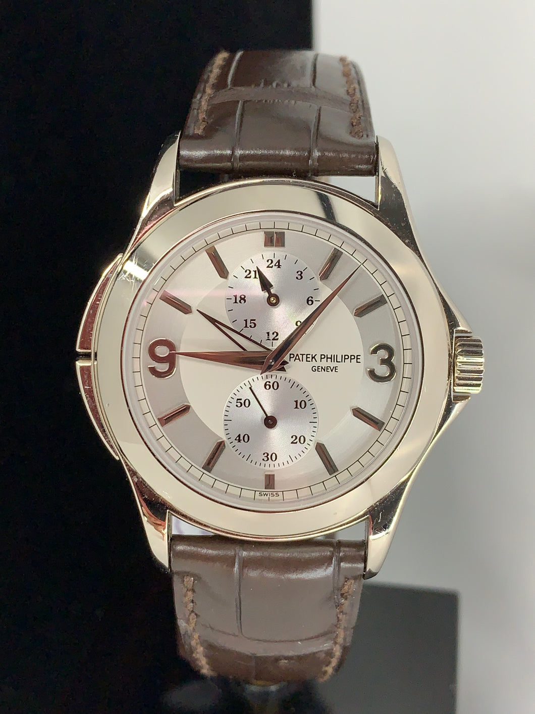 PATEK PHILIPPE  CALATRAVA TRAVEL TIME 5134 18KWG