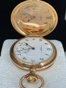 PATEK PHILIPPE 14KRG POCKET WATCH CIR. 1910