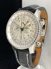 Load image into Gallery viewer, BREITLING NAVITIMER WORLD GMT CHRONOGRAPH 46