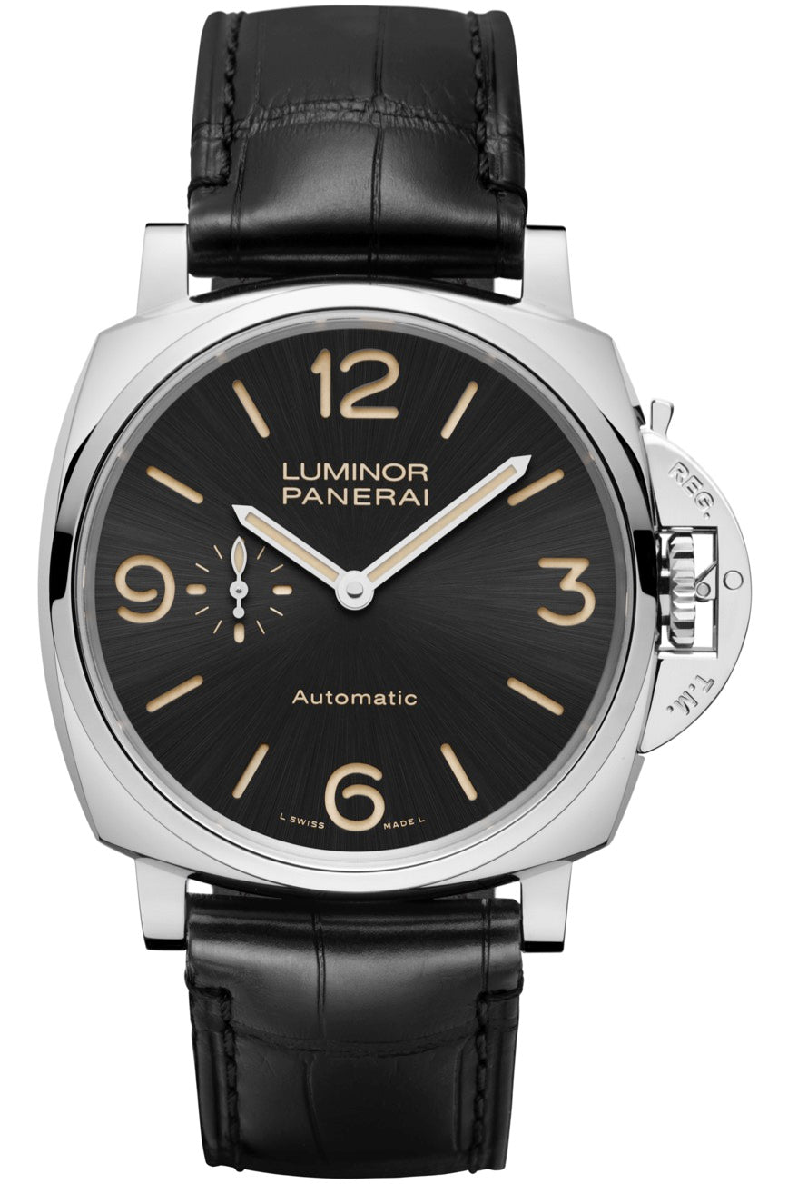 LUMINOR DUE 45 MM STAINLESS STEEL PAM674