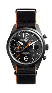 BR126 CARBON ORANGE PVD