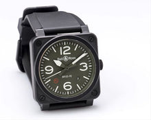 Load image into Gallery viewer, BR03-92 MILITARY TYPE KHAKI BLACK CERAMIC