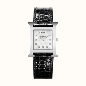 HEURE H DIAMOND-SET MOP DIAL MED