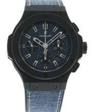 "Load image into Gallery viewer, BIG BANG CHRONOGRAPH ""DARK BLUE JEAN"" CERAMIC 44MM"