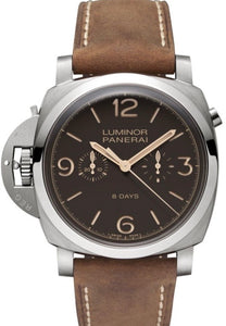 LUMINOR 1950 CHRONO MONOPULSANTE DESTRO TITANIUM 8-DAYS