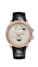 Load image into Gallery viewer, TORIC HEMISPHERES RETROGRADE GMT ROSE GOLD
