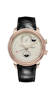 TORIC HEMISPHERES RETROGRADE GMT ROSE GOLD