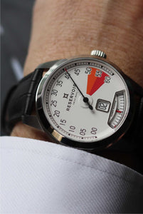 SUPERCHARGED CLASSIC RED ZONE WHITE DIAL