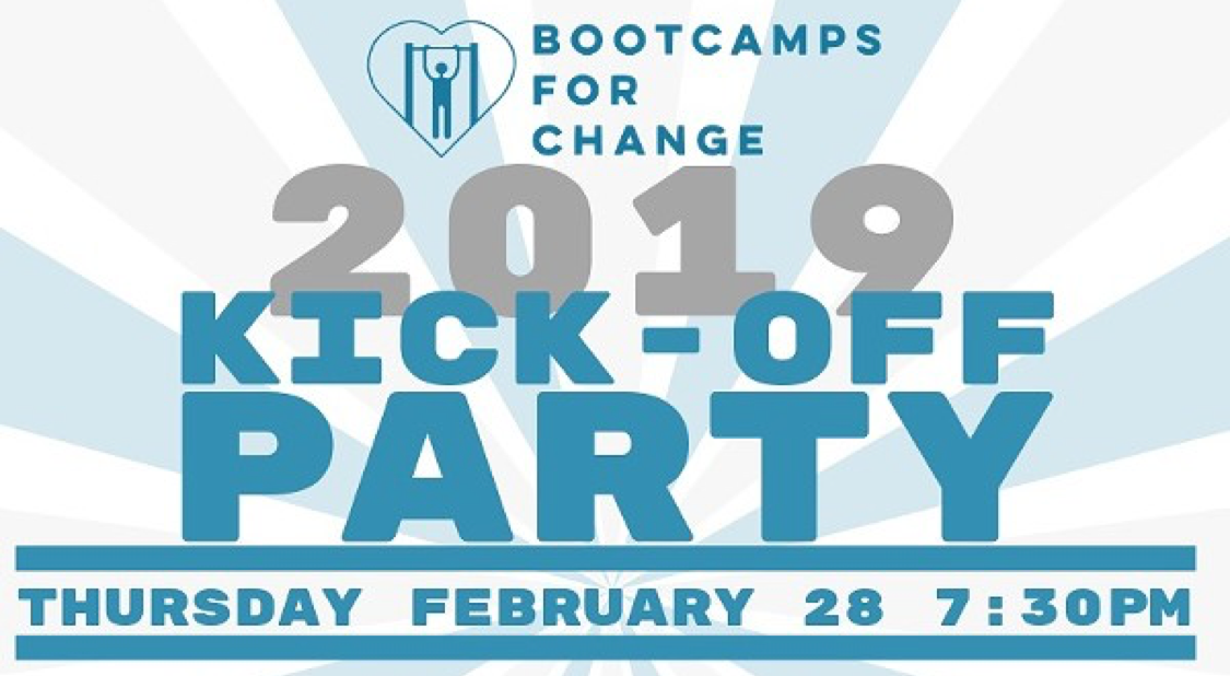 Charity Kickoff Party: Helping Homeless Youth With Fitness