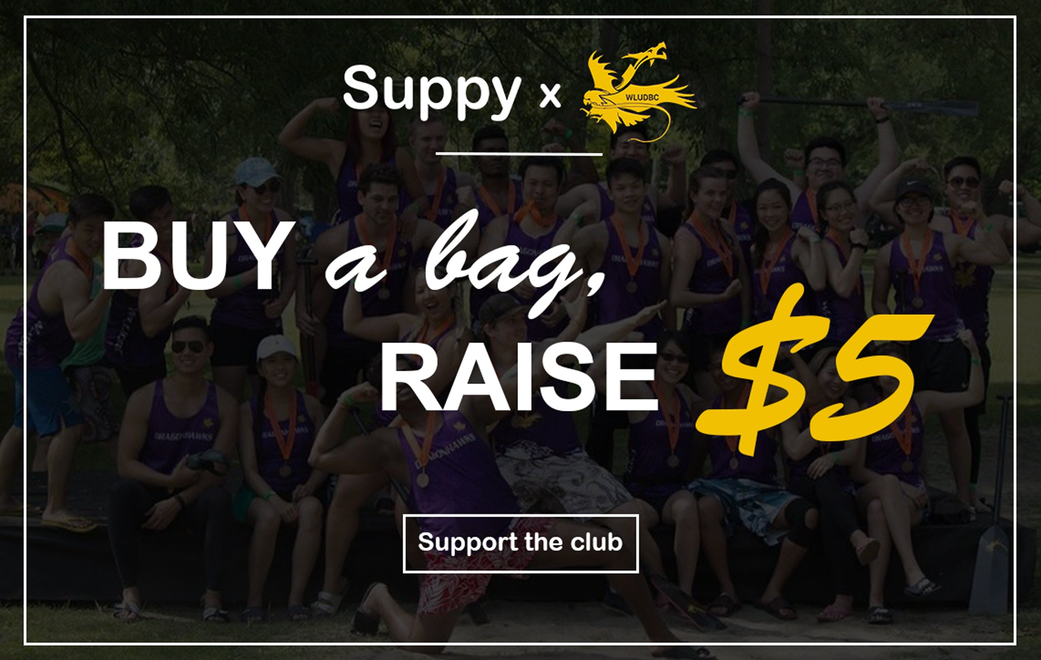 Suppy x Wilfrid Laurier University Dragon Boat Club