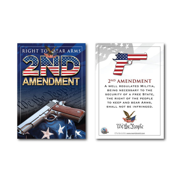"""2nd Amendment Gun"" - Trading Card - Proud Patriots"