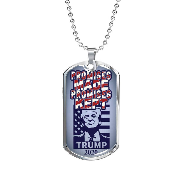"""Promises Made"" Dog Tag - Proud Patriots"