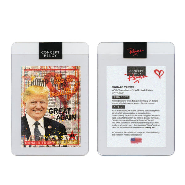 "Rency ""Trump"" - Trading Card - Proud Patriots"