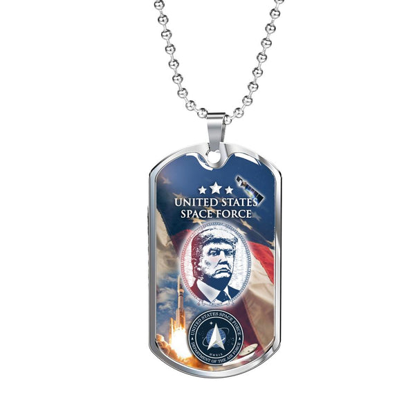 United States Space Force Dog Tag - Proud Patriots