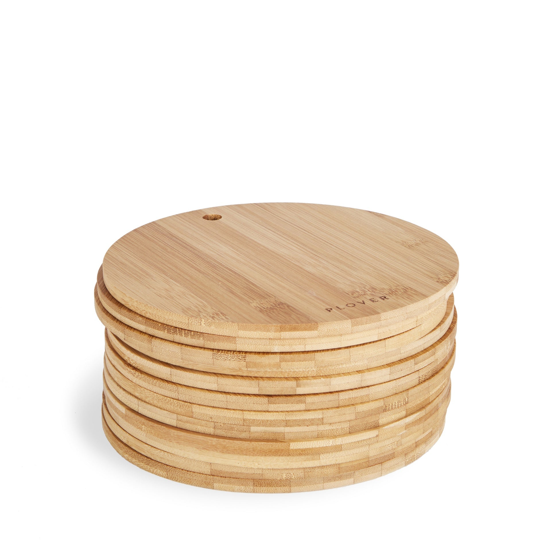 Plover Bamboo Single Plates