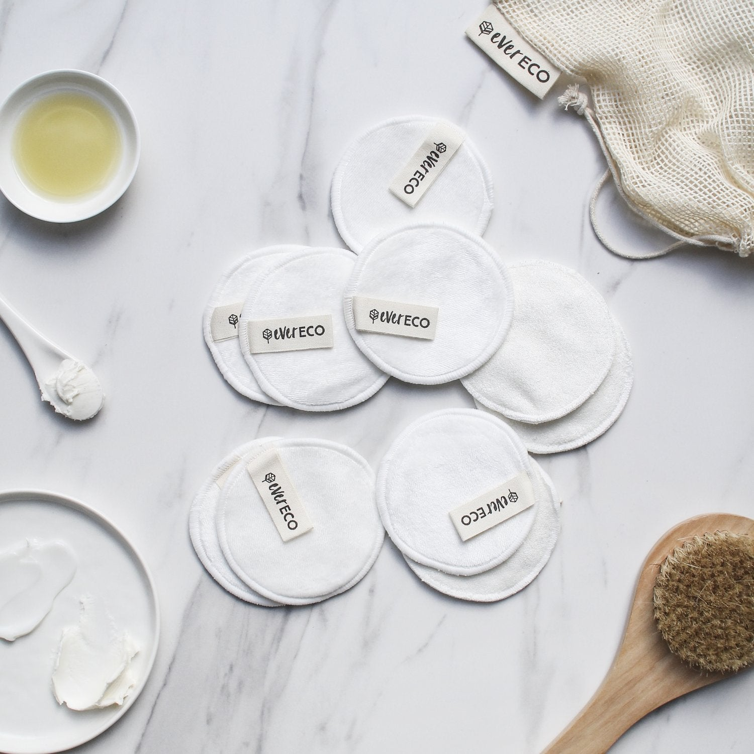Ever Eco Re-usable Bamboo Facial Pads