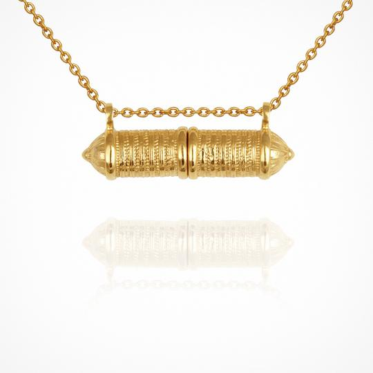 Temple Of The Sun Zora Necklace