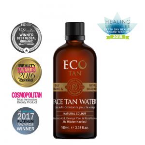 EcoTan Organic Face Tan Water 100ml