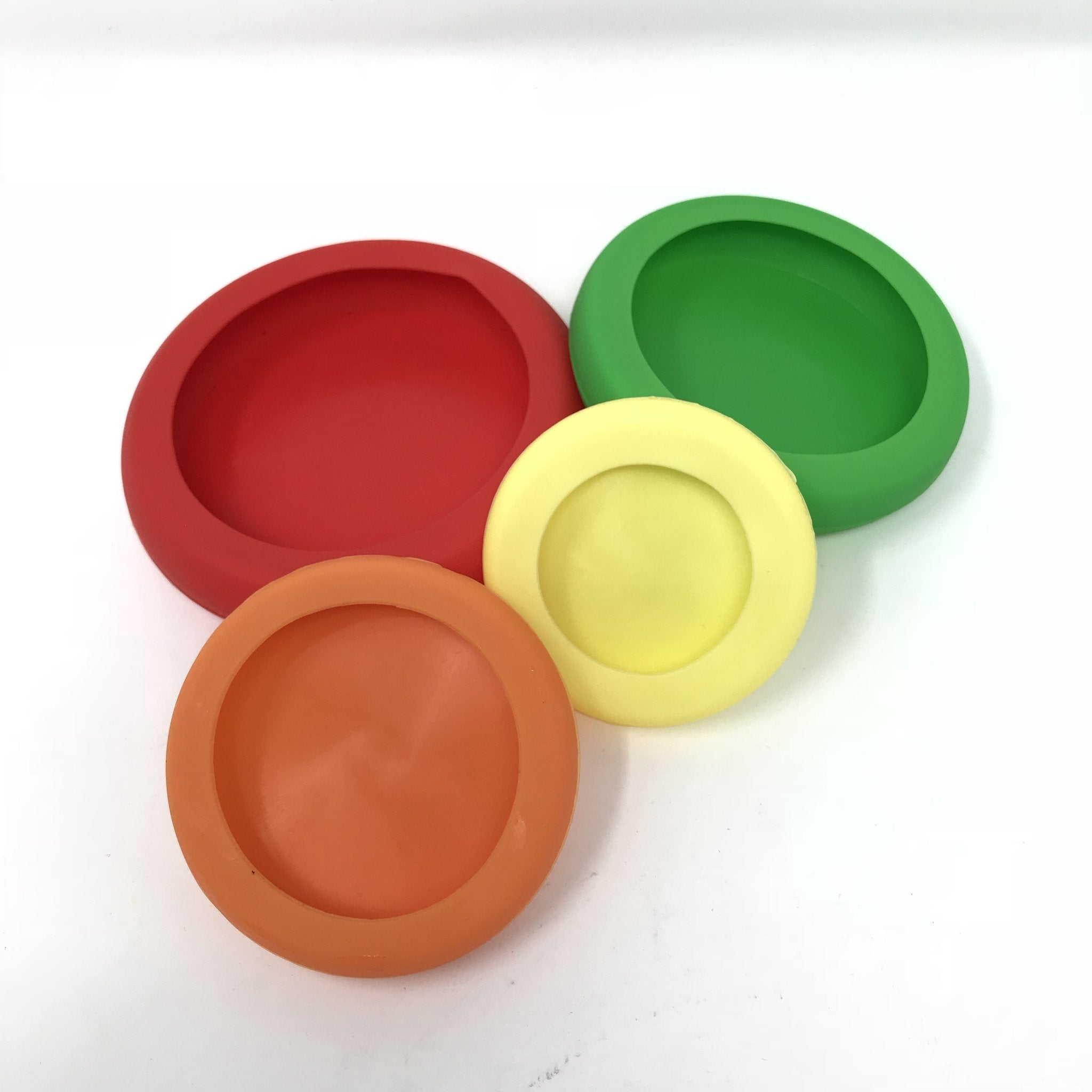 Little Mashies Reusable Left Over Lids - Pack 4