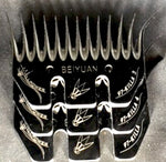 Willpower Killa Combs - 97mm Wide - Bevels - Killa - 5mm - 4mm - 3mm - SOLD IN PACKETS OF 5