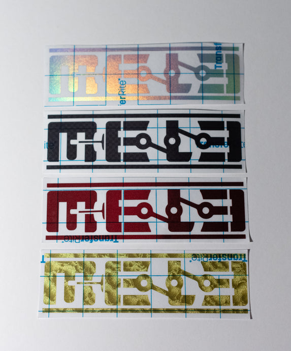 MeLe 6 in. Vinyl Cut Sticker - Variety Pack