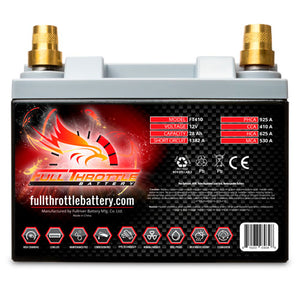 Full Throttle FT410 Battery With Terminals