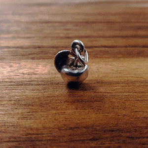 Silver Apple charm Tam Jewellery