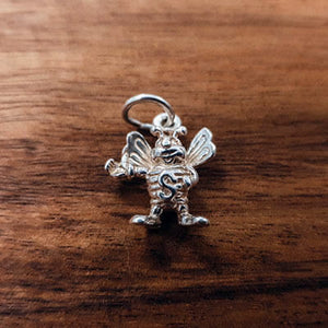 Silver Bumble Bee charm Tam Jewellery